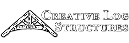 Creative Log Structures Logo